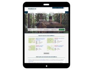 Waldbörse - Wald online kaufen und verkaufen